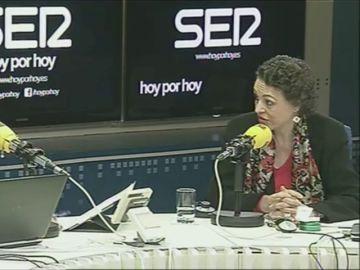La ministra de Trabajo, Magdalena Valerio,