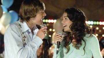 Troy Bolton y Gabriella Montez en 'High School Musical'