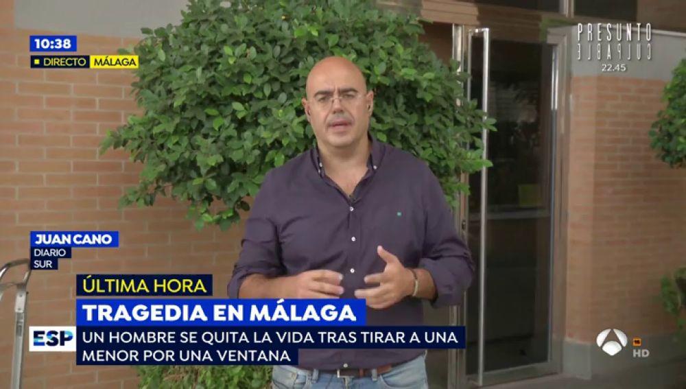 """El hombre que se lanzó con una niña desde un sexto piso en Málaga era un amigo de la familia """"con problemas"""""""