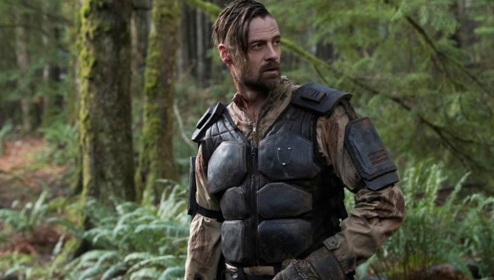 William Miller en 'The 100'