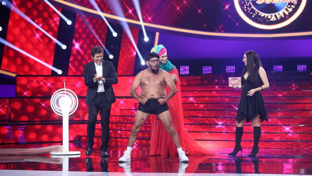 El inspector Gadget, Raphael o Becky G y Natti Natasha en la cuarta gala de 'Tu cara me suena'