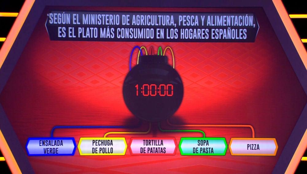 ¿Cuál es el plato más consumido en los hogares españoles?