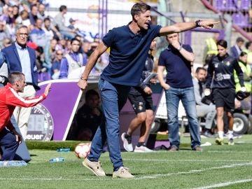 Leo Franco, durante un partido del Huesca