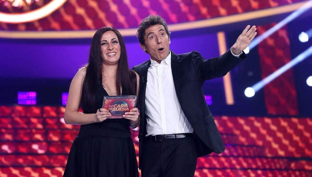 María Villalón se hace con el triunfo de la tercera gala de 'Tu cara me suena' con su imitación de Camela