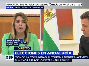 """Díaz: """"Si el PP tiene que recurrir a hablar de los ERE es porque no ha encontrado nada desde que estoy al frente"""""""
