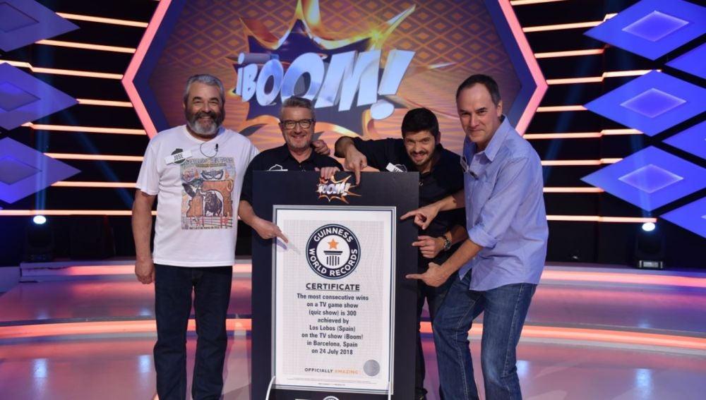 Especial Récord Guinness de '¡Boom!', el miércoles en Antena 3