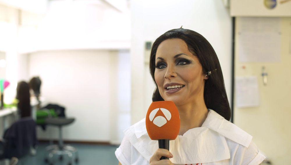 """Soraya Arnelas: """"He intentado ponerme en el perfil de folclórica"""""""