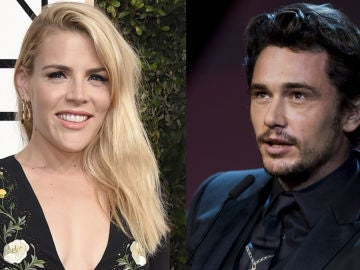 Busy Philipps y James Franco