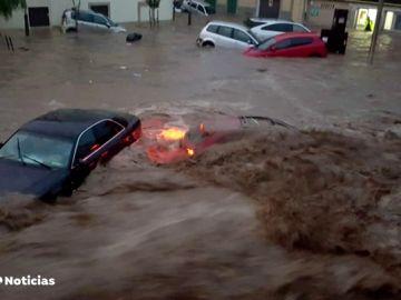 Baleares, Barcelona y Málaga, azotados por las intensas lluvias que han provocado graves inundaciones