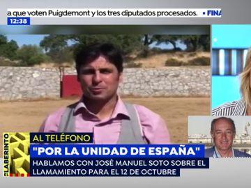 """Fran Rivera y Manuel Soto hacen un llamamiento para la manifestación del 12 de octubre: """"España te necesita, sal a defenderla"""""""