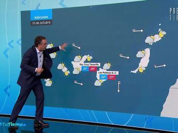 Precipitaciones localmente fuertes en Aragón, Cataluña, Valencia y Andalucía