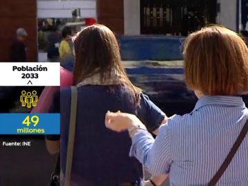 Dentro de 15 años habrá 49 millones de habitantes en España y uno de cada cuatro será mayor de 65 años