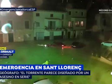 """Un geógrafo experto en inundaciones: """"El torrente de Sant Llorenç parece diseñado por un asesino en serie"""""""