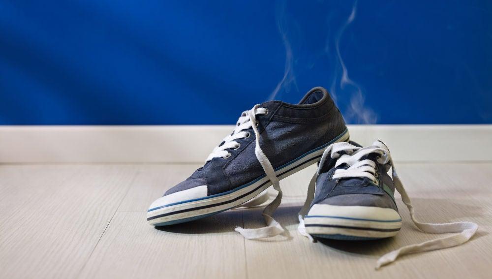 Zapatos con mal olor