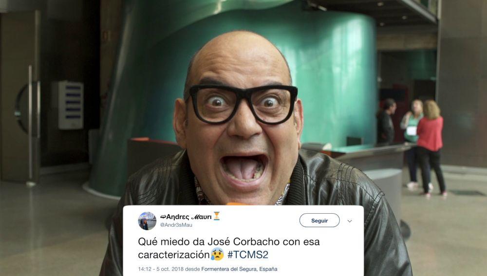 José Corbacho en 'Tu cara me suena'