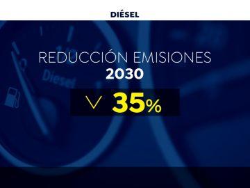Bruselas obligará a reducir las emisiones de las nuevos diésel