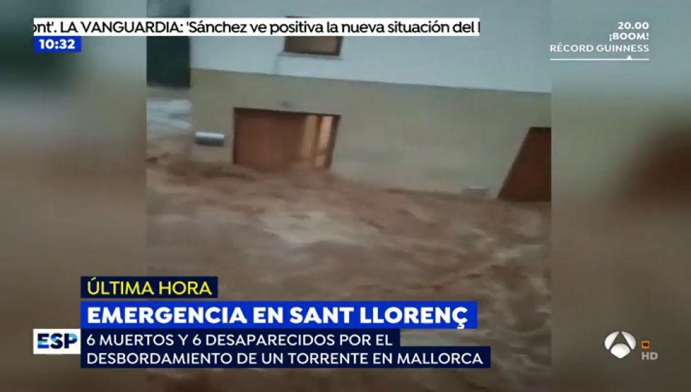 """Las desoladoras imágenes del desbordamiento de Sant Llorenç: """"Nos han rescatado cuando el agua nos llegaba por la cintura"""""""