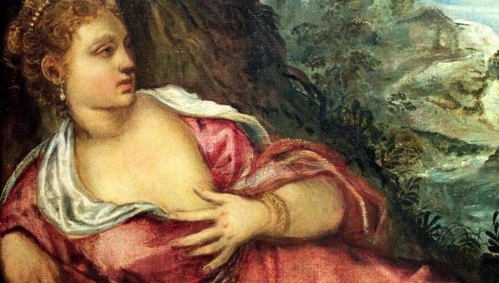 La Reunión de Tamar y Judá, Tintoretto