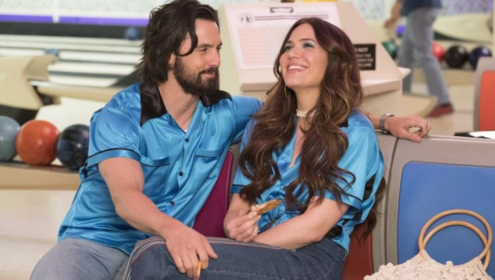 Milo Ventimiglia y Mandy Moore en 'This is us'