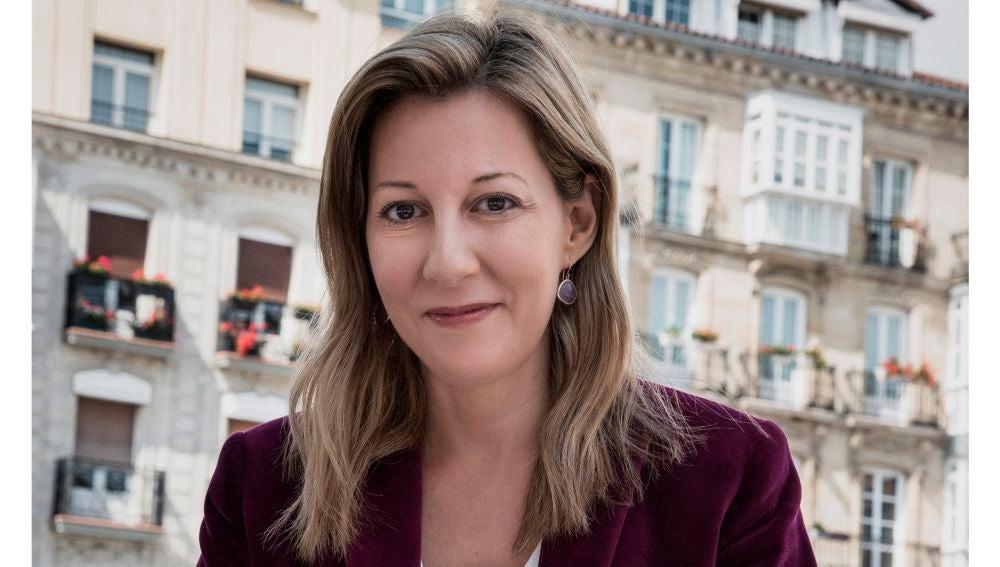Eva García Sáenz de Urturi presenta su libro 'Los señores del tiempo'