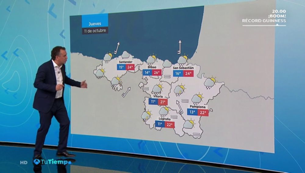 Se esperan precipitaciones persistentes en Galicia y el Sistema Central