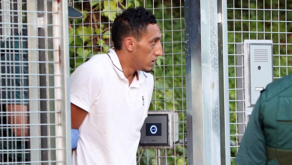Driss Oukabir tras su detención