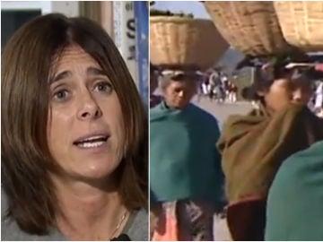 Edurne Pasaban, entrevistada por Antena 3 Noticias
