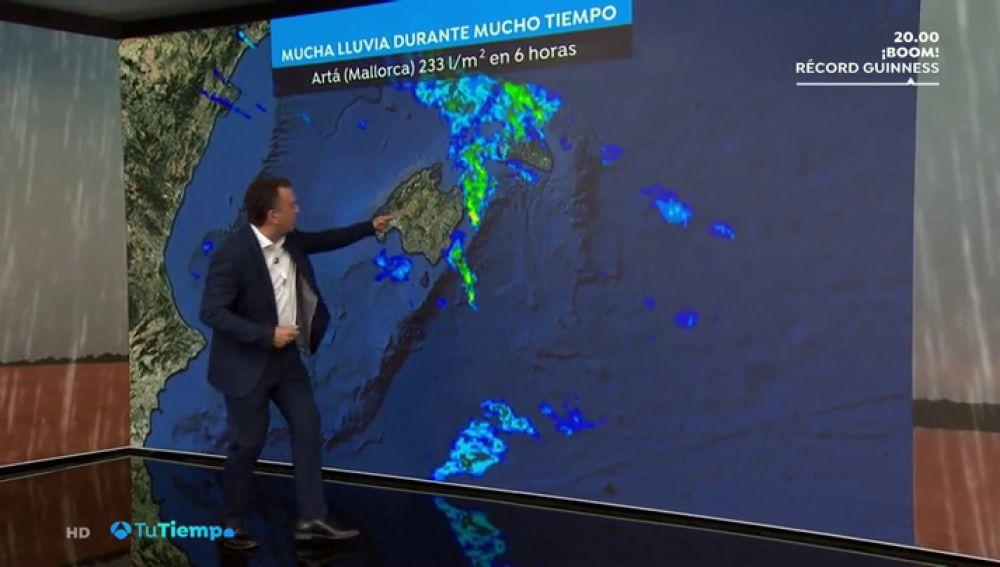 Roberto Brasero explica el fenómeno que ha inundado el municipio de Sant Llorenç