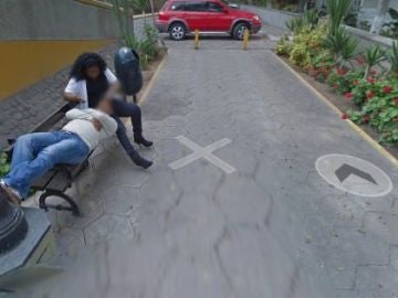 Pillados en Google Maps