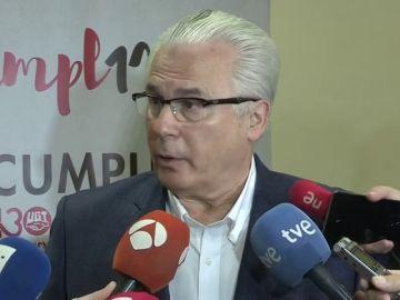 """Garzón no ve razones para que dimita la ministra Delgado y PP y Cs """"lo saben"""""""