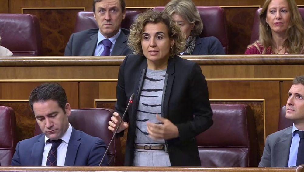 """Dolors Montserrat, a Carmen Calvo: """"Quién eligió a la señora Delgado, a esa luchadora incansable contra el machismo, contra la homofobia"""""""