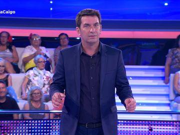El chiste de Arturo Valls que deja al público mudo