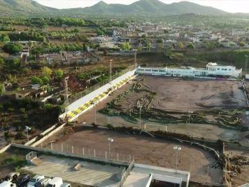 Antena 3 Noticias comprueba los destrozos de las trágicas inundaciones en Mallorca a vista de dron