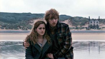 Hermione y Ron Weasley en 'Harry Potter'