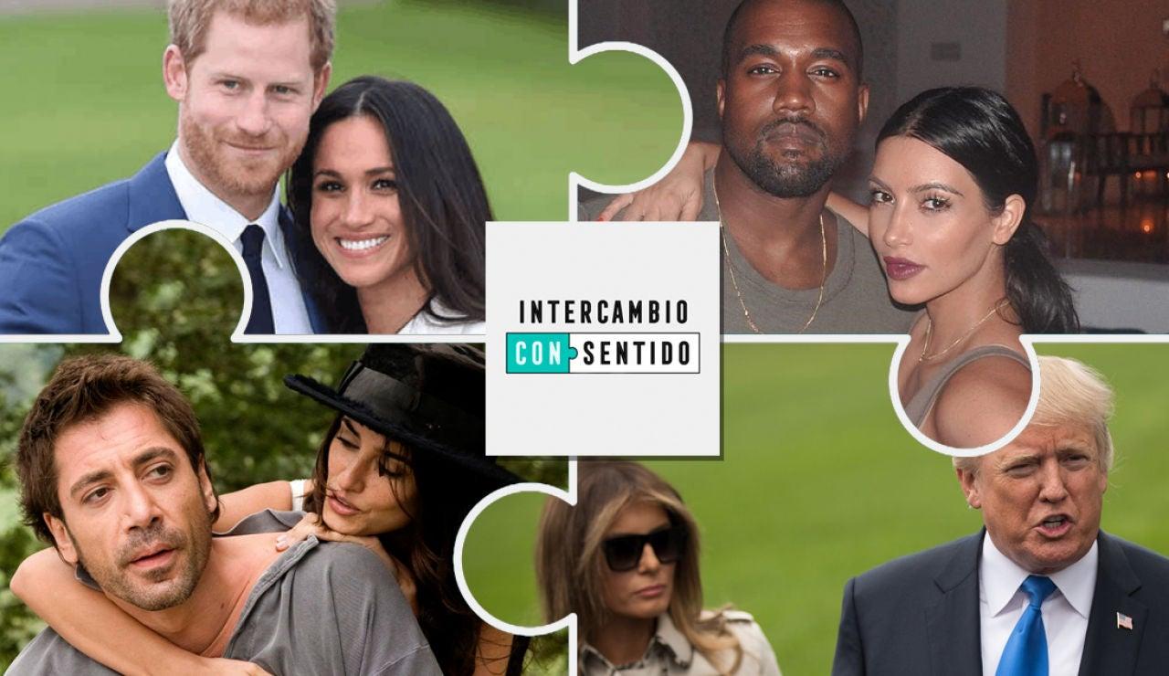 ¿Con qué pareja famosa harías un intercambio?