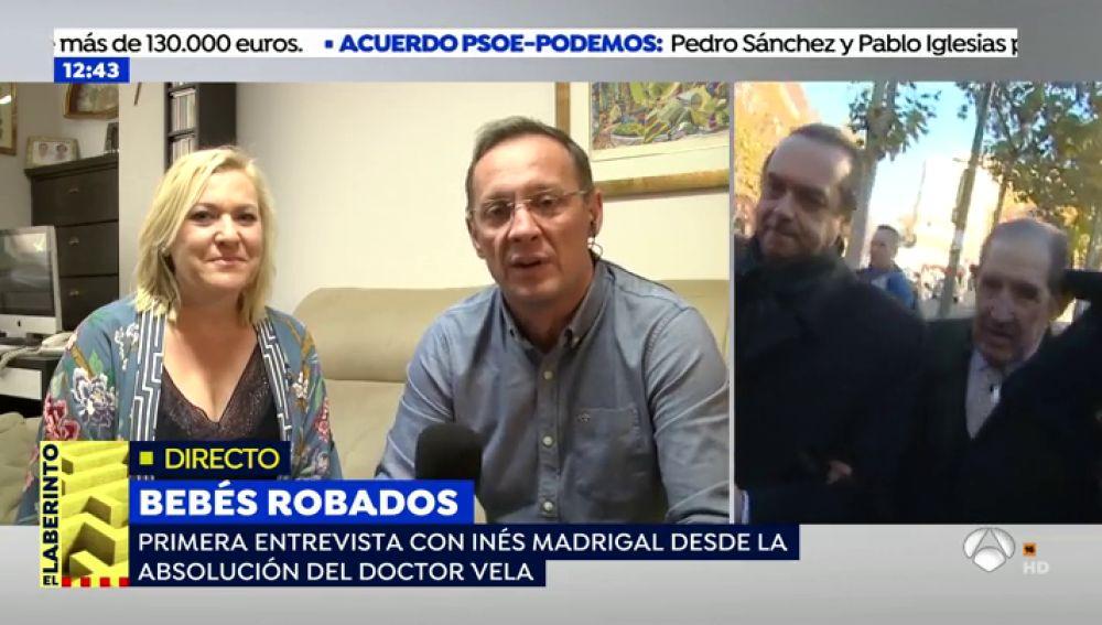 """Inés Madrigal, primera bebé robada, afronta con seguridad el recurso: """"Es una noticia maravillosa porque es la primera sentencia a nivel europeo que reconoce el robo"""""""
