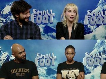 El reparto de 'Smallfoot'
