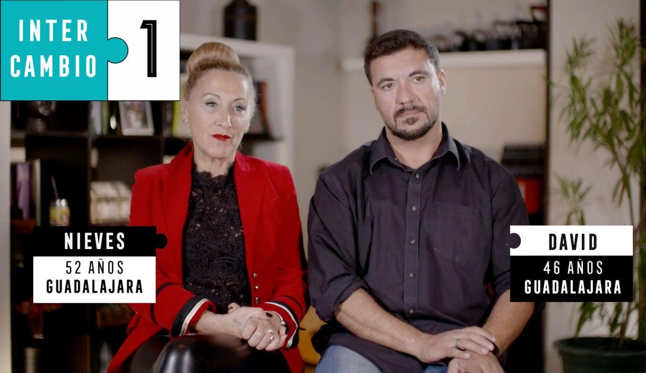 Nieves y David, siete años de relación y convivencia