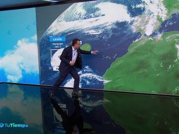 Viento fuerte en el litoral de Galicia y en la cordillera Cantábrica