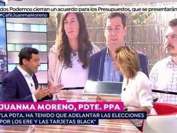 """Juanma Moreno: """"Susana Díaz convoca elecciones porque no quiere contaminarse por 'el efecto Pedro Sánchez"""""""