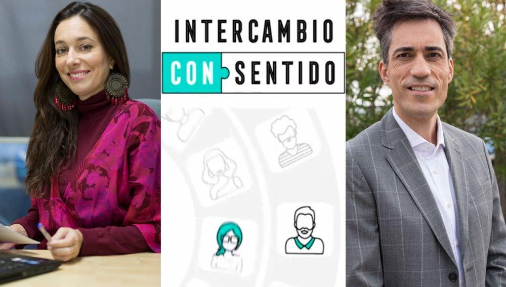 Covadonga Pérez Lozano e Iñaki Vázquez, los coaches de 'Intercambio consentido'