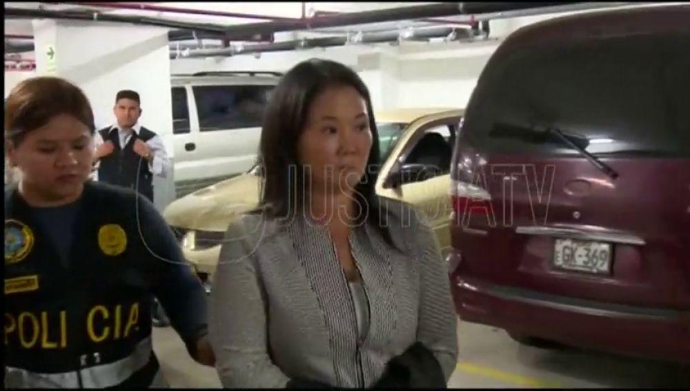 Detienen a la hija de Fujimori por blanqueo de capitales tras ser interrogada en el tribunal