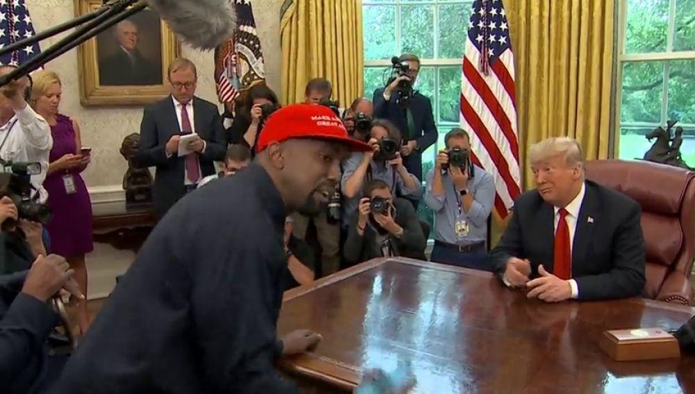 El rapero Kanye West asesora a Trump sobre reformas penales