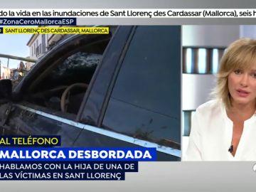 """La hija de una víctima de las inundaciones de Mallorca: """"No me lo creo, todavía no he visto el cuerpo"""""""
