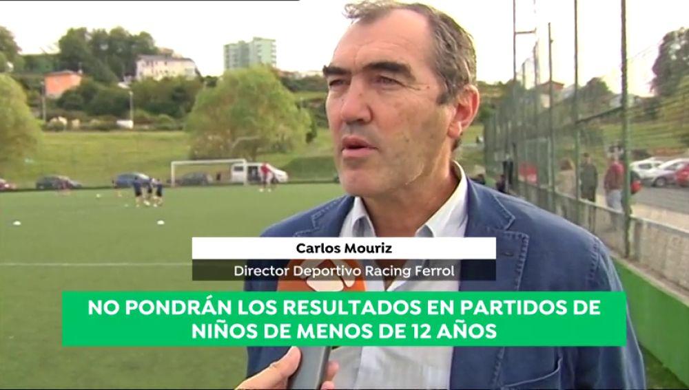 La iniciativa del Racing de Ferrol: no pondrán los resultados en partidos de niños menores de 12 años