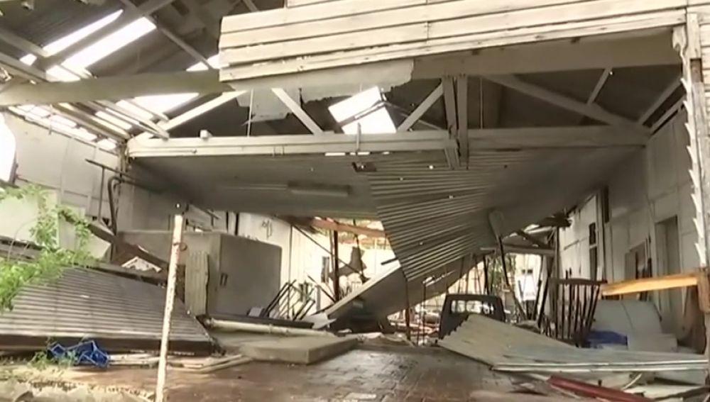 Una poderosa tormenta deja cinco heridos en el sur de Australia