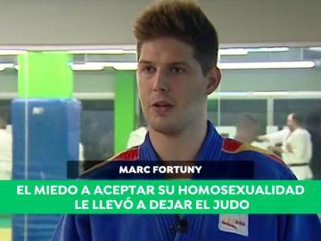 """Marc Fortuny vuelve a un tatami tres años después de dejar el judo: """"No me atrevía a competir por no poder aceptar que era gay"""""""