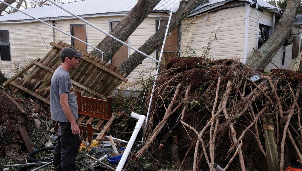 Destrozos por el huracán 'Michael'