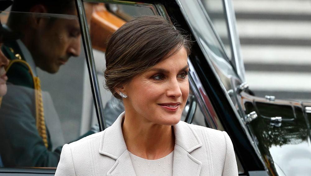 La reina Letizia en el Día de la Hispanidad