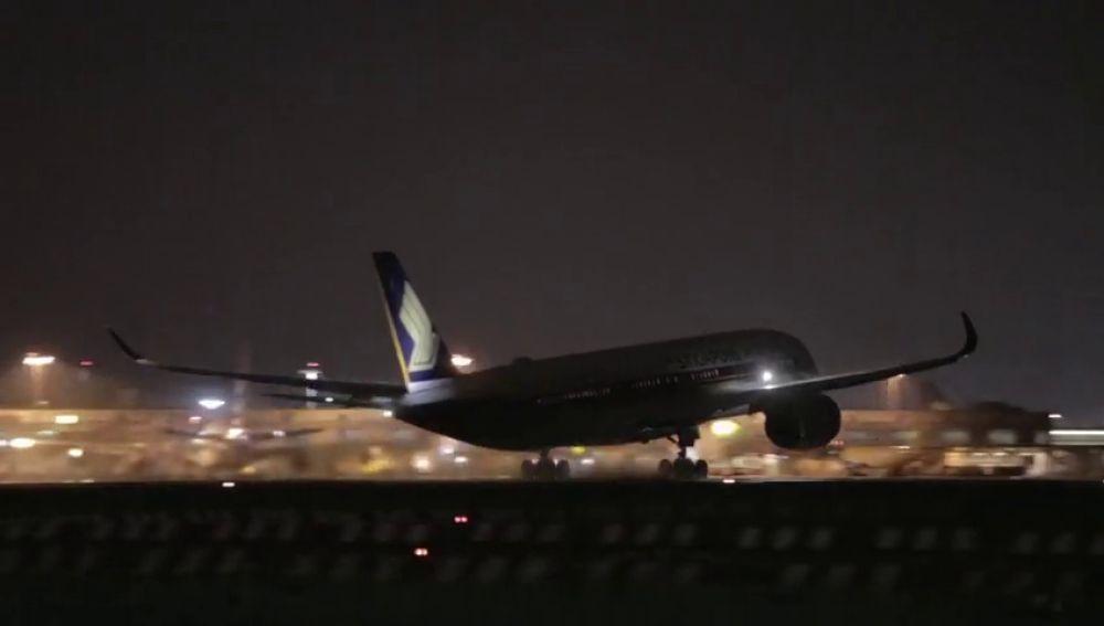 Despega el vuelo más largo del mundo desde Singapur